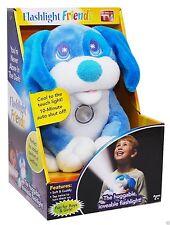 NEW Flashlight Friends BLUE PUPPY Huggable Flashlight AS SEEN ON TV *FREE SHIP*