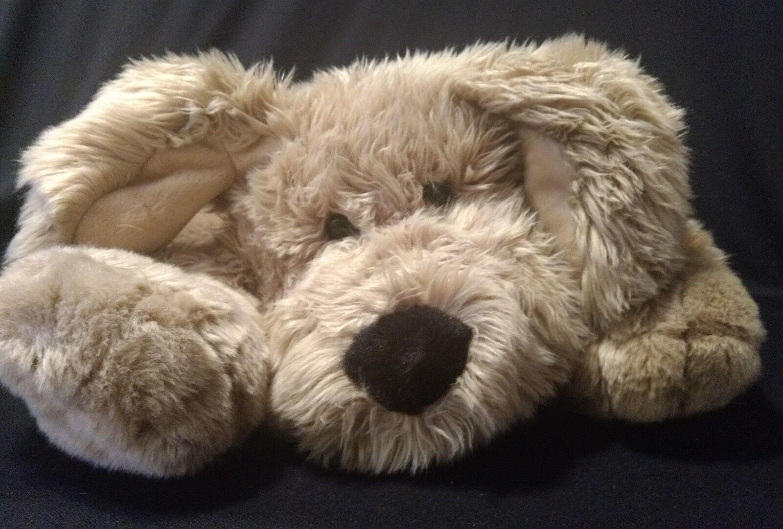Vintage COMMONWEALTH PUPPY DOG Large Plush Stuffed Animal Pillow Toy 24