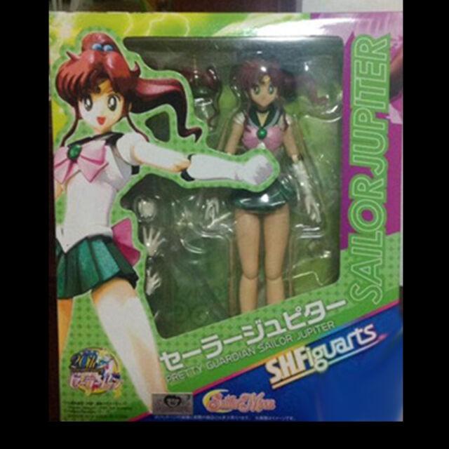 Anime Pretty Guardian Sailor Jupiter Figuart Kino Makoto Action Figure Model Toy