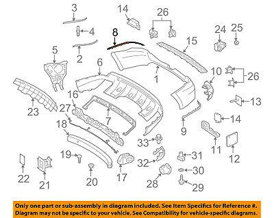 New Genuine Mercedes-Benz Trim Molding 1648851821 OEM