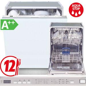 Geschirrspüler A++ Einbau Spülmaschine Spüler vollintegrierb