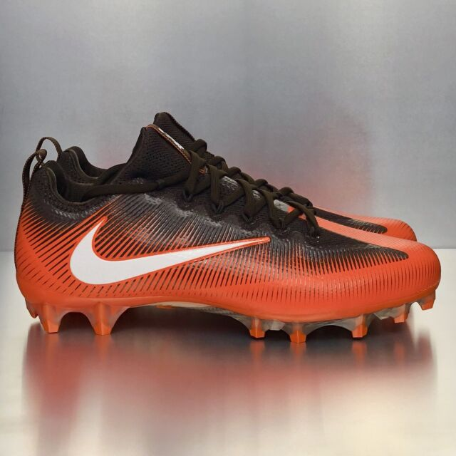 4d7e3c322c6 Nike Vapor Untouchable Pro Brown Orange White Cleveland Football Cleats  Size 13