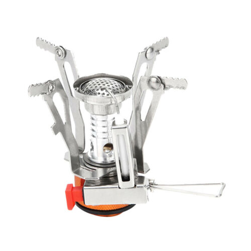 2019 Ultralight Portable Outdoor Backpacking Camping Stove with Piezo Ignition