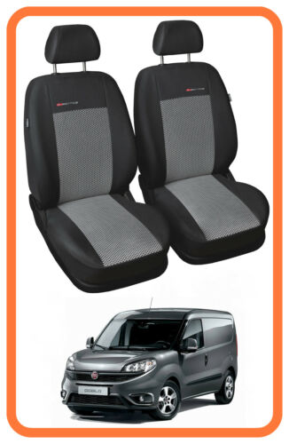 on  1+1 Fully tailored Van seat covers for Fiat Doblo Cargo 2009 P2