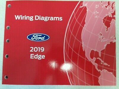 2019 Ford Edge Wiring Diagrams Manual Ebay