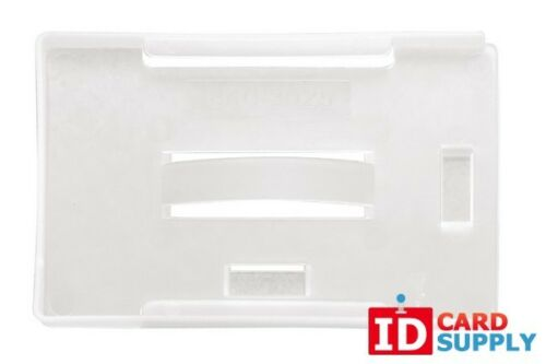 Milky White ID Card Holder for Multiple Cards 1840-3025