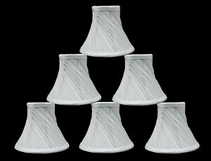 Urbanest-Swirl-Pleated-Chandelier-Lamp-Shades-Bell-Off-White-3-034-x6-034-x5-034-set-of-6