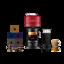 thumbnail 1 - Nespresso-Vertuo-Next-Cherry-Red-Coffee-Machine-amp-Aeroccino3-50-Vertuo-Capsules