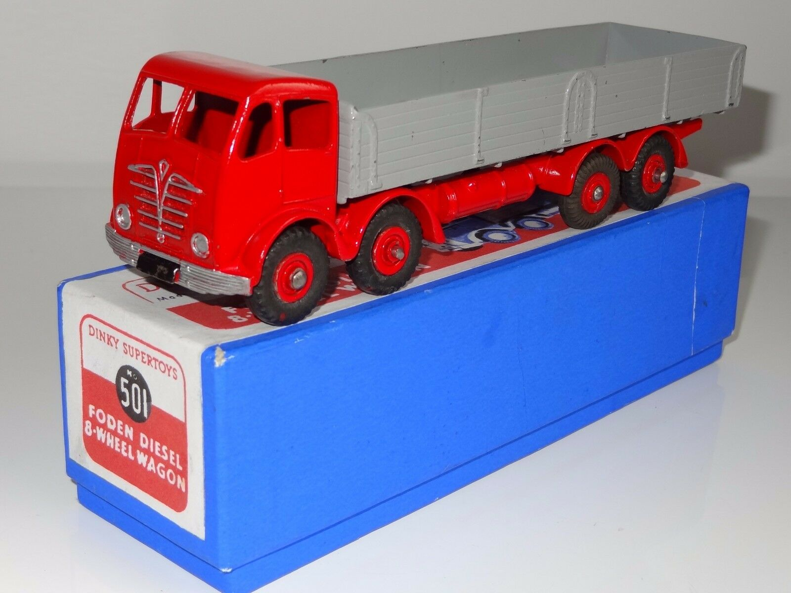 DINKY FODEN DIESEL 8 RUOTE CARRO - 901