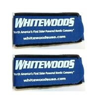 Whitewoods Set (2) Cross Country Ski Ties Hold Together Easier To Carry Blue