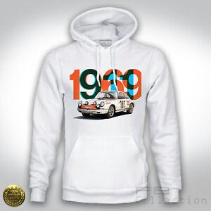 Felpa-Hoodie-Porsche-911-1969-Tour-the-France-Winner-Rally-Legend-Montecarlo-Old