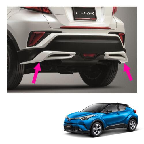 Rear Spoiler Sub Lh Rh Sub Assy Unpaint Genuine Fits Toyota C-HR Suv 2018-2019