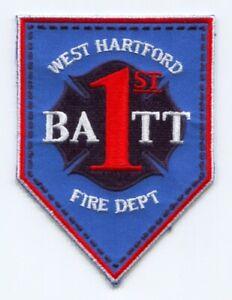 Hartford Fire Department District 1 Tour Commander Patch Connecticut CT