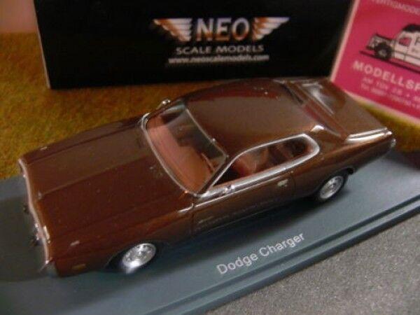 1 43 Neo Neo Neo Dodge Charger marron métallisé 44750 d154c3
