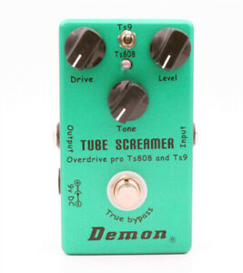 Tube-Screamer-2-in-1-Guitar-Overdrive-Effect-Pedal-Models-the-Ibanez-TS808-TS9