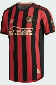 Details about Adidas Atlanta United FC Authentic Home Jersey Mens Large MLS MSRP $140 **NEW**