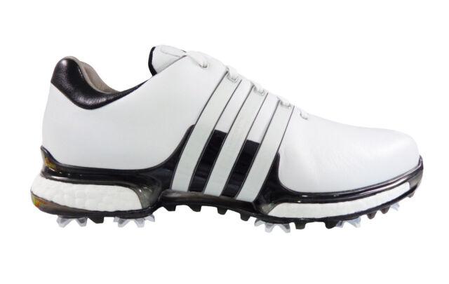 c1230d3d3d489 adidas Tour360 Boost 2.0 Golf Shoe Mens Q44936 Black/white Wide Width 2018  14 for sale online | eBay