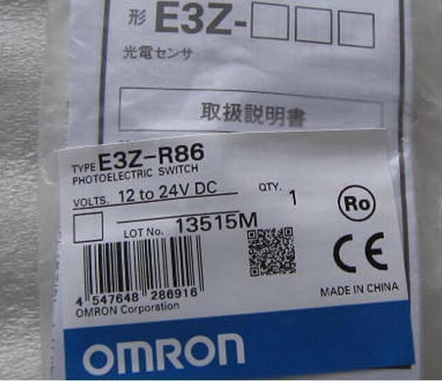 New IN BOX Omron  E3Z-R86 12-24VDC  #LRR