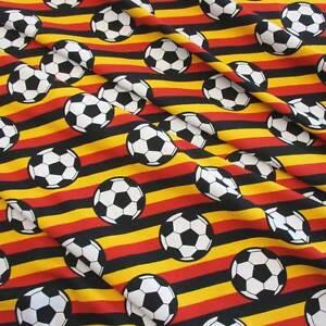 Stoff-Meterware-Jersey-Fussball-EM-WM-Deutschland-Europameister-Preis-pro-Meter