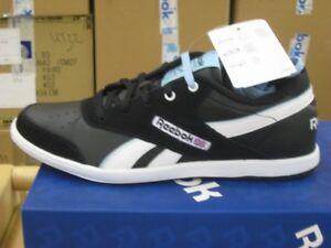 size 40 97559 10dff Details zu Reebok BB7700 Low schwarz-weiß Classic Sneaker Damen Leder  Schuhe NEU J81789