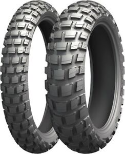 michelin anakee wild front rear tire set 120 70r 19. Black Bedroom Furniture Sets. Home Design Ideas