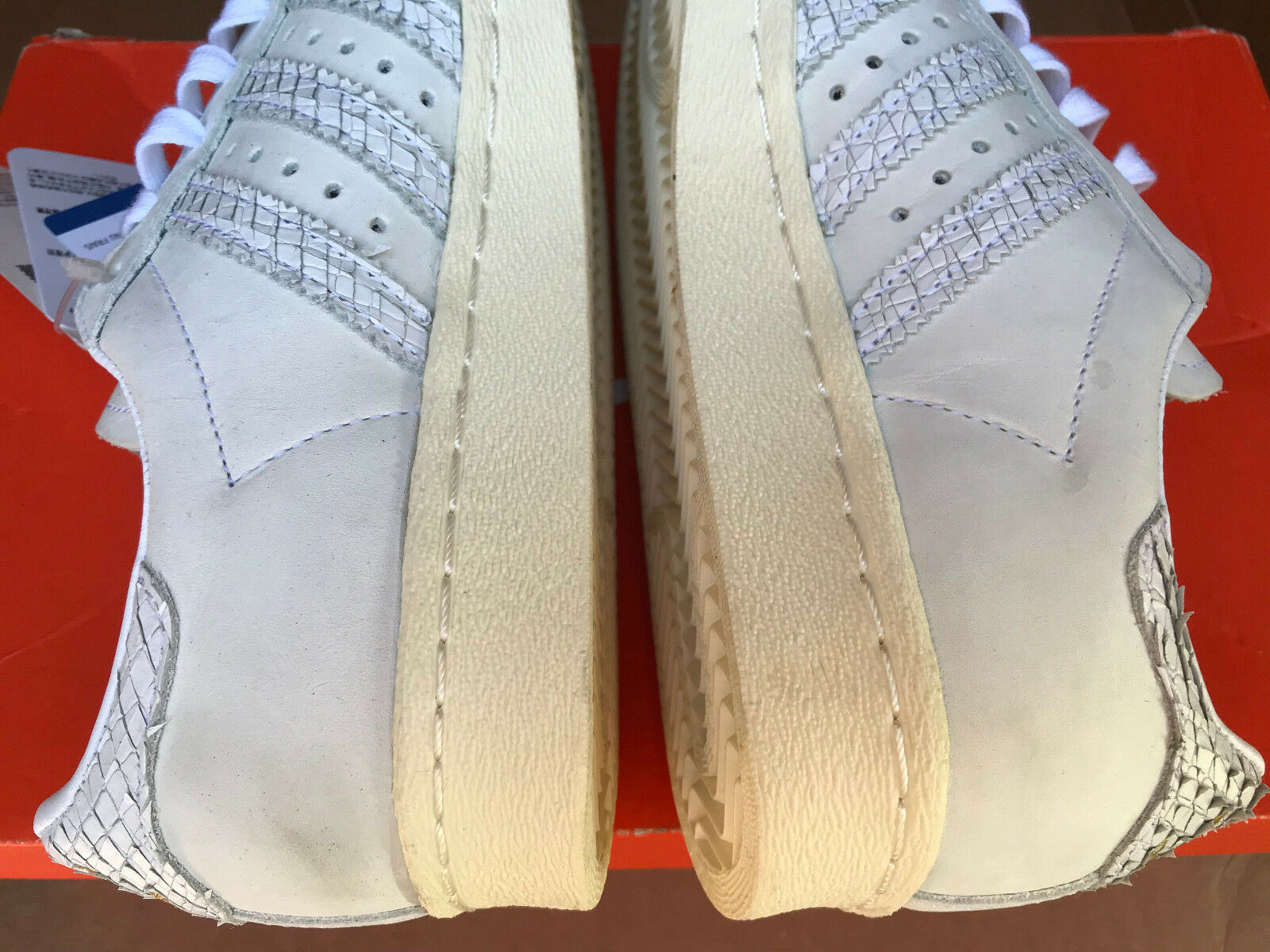 80s Snake Adidas By9075 Superstar W Leather Originals Reptile fZaxU