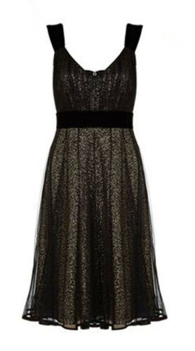 Robe Bal Et Flare Fit Bw De Uk Taille 16 Amelie Monsoon Sequin qxA7xS