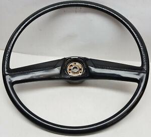 Original-1969-thru-1972-Chevy-pick-up-Truck-Blazer-Suburban-Black-steering-wheel