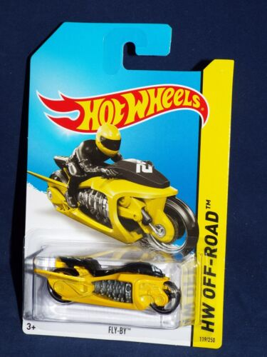 Hot Wheels 2014 New Release HW Off-Road Test Facility #119 Fly-By Yellow