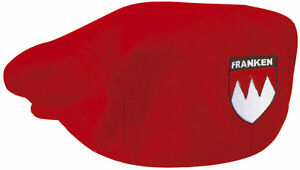 Gatsby-Gorra-KADETT-Sombrero-color-rojo-con-bordado-Franken-ESCUDO-LOCAL-53408