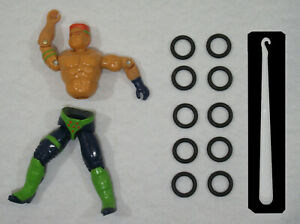 Gi joe repair kit lot of 5 elastic new hook expedition 24h g.i joe