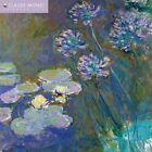 Claude Monet Wall Calendar 2017 Flame Tree 9781783617449