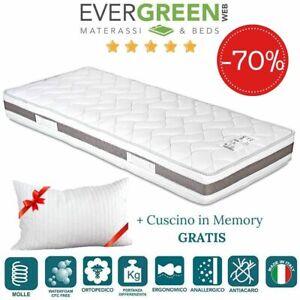 Evergreenweb Materasso Singolo 90x190 Rigido Cuscino Gratis Ebay