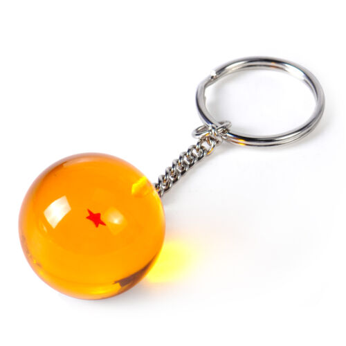 3D Star Keychain Keyring Pendant AnimeReplace Fit for Dragon Ball Z DBZ Cosplay