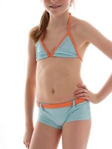 Brunotti-Triangolo-Bikini-Costumi-da-bagno-Sishna-verde-Boxer