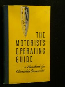 1941 Oldsmobile Owners Manual User Guide Reference Operator Book Fuses Fluids OE