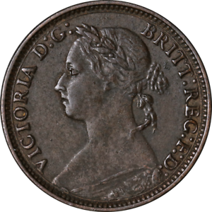 Great-Britain-Farthing-1881-KM-753-VF