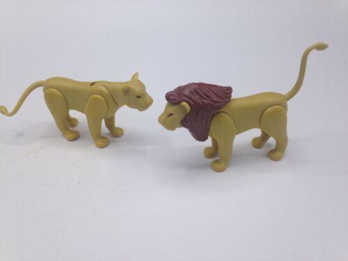 Playmobil Lion Lot of 2 Adult Zoo Circus