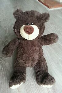 Peluche ours  marron , neuf!