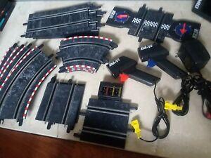 SCX 1:43 Porche 911 slot racing car LOT 12 Track controller power AC lap counter