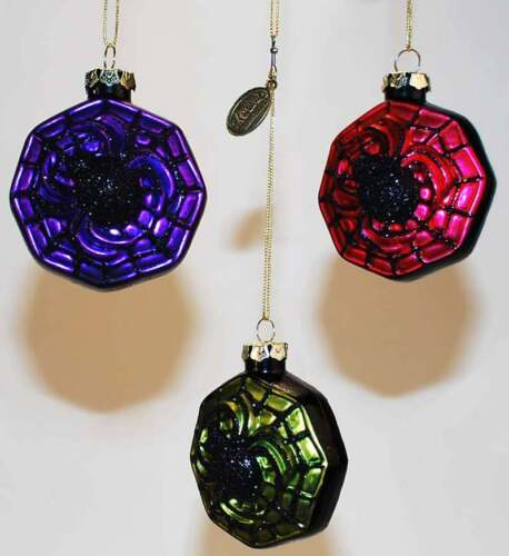 18-82334 Spider web Halloween Katherines Collection Ornament Christmas Holiday