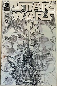 Dark Horse STAR WARS #1 3rd Print signed by ALEX ROSS L@@K!!! FREE SHIPPING!!
