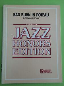 Frank Mantooth Big Band Arrangement Bescheiden Bad Burn In Poteau
