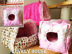 Hammock-for-Rabbit-Guinea-Pig-Ferret-Small-Animals-Hanging-Bed-Toy-House-Cage