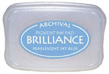 BRILLIANCE Archival Pigment Ink  PEARLESCENT SKY BLUE