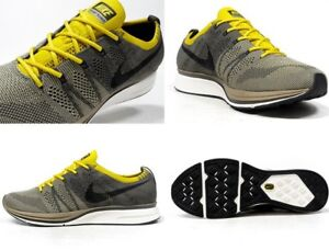 dcc66cd0be70 New Men s Nike Flyknit Trainer Shoe Size 11 Cargo Khaki Black-Sail ...