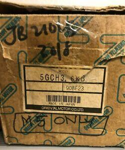 Oriental Motor 5GCH3.6KB Gear Head New In Box