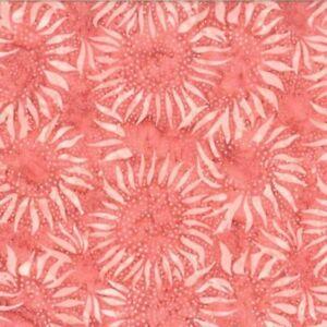 Hoffman-Bali-Chop-Sunflower-884-416-Marmalade-Batik-Cotton-Fabric-BTY