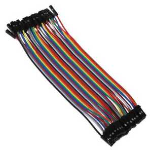 40x-Cables-Hembra-Hembra-20cm-Jumpers-Dupont-2-54-Arduino-Protoboard-Prototipos