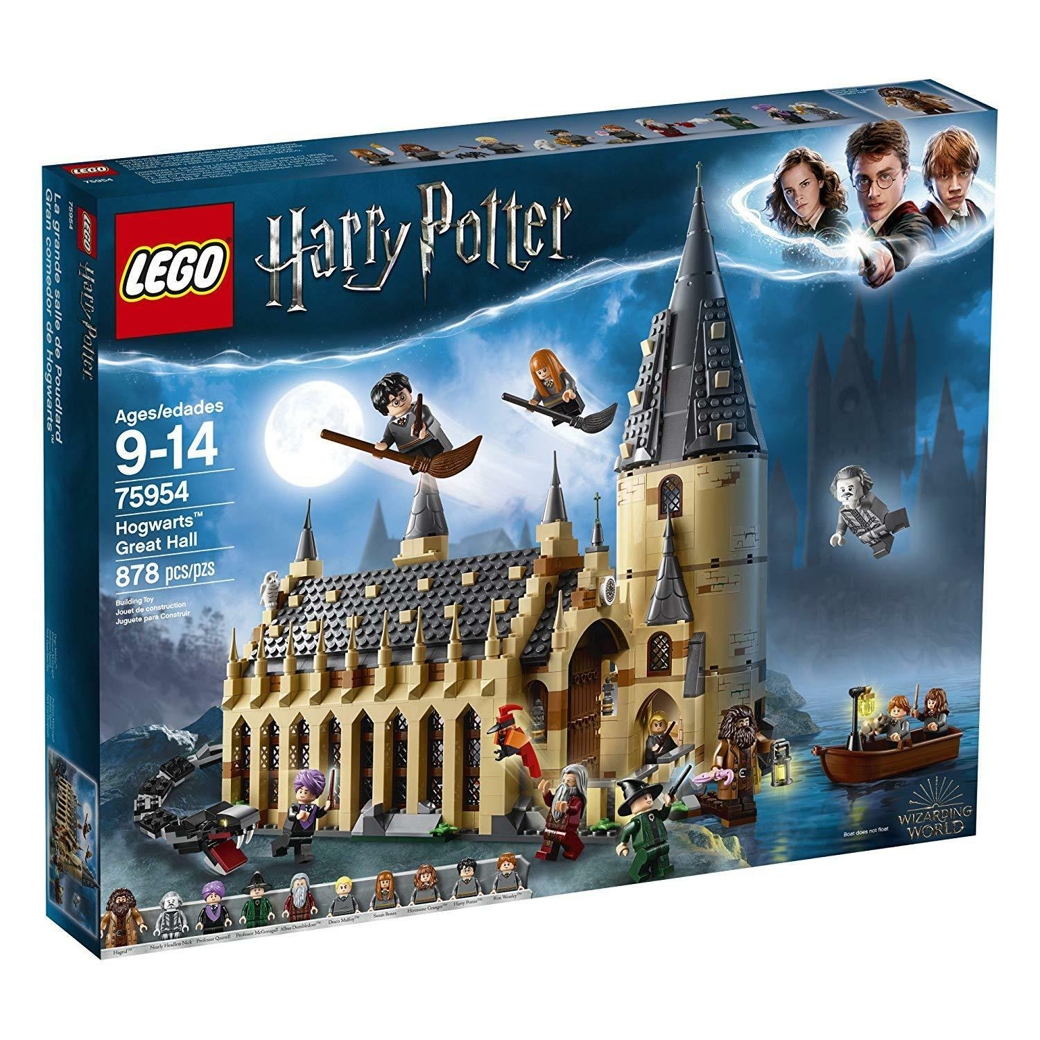 LEGO Harry Potter 75954 Wizarding World Hogwarts Great Hall Nuovo Free Shipping